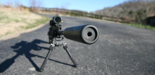Rifle Sound Suppressor