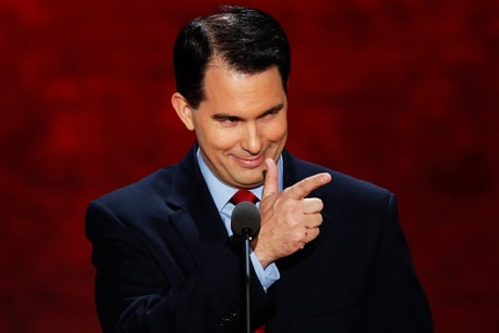Scott Walker at GOP Convention