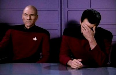 Picard and Riker Facepalm