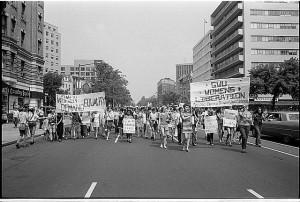 A women's liberation march in Washington DC, August 1970. Warren K. Leffler/Library of Congress