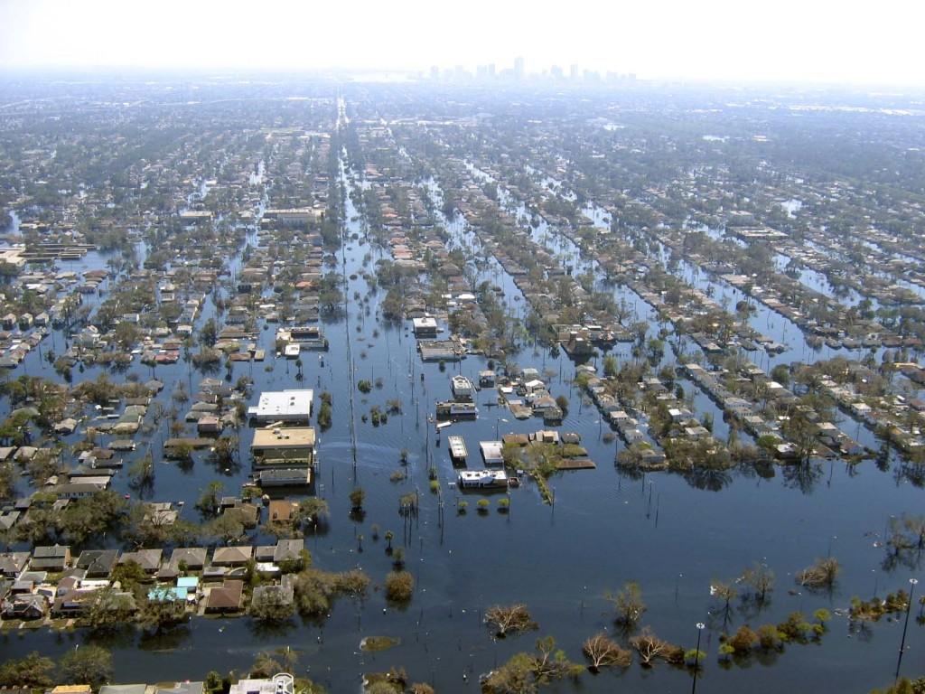 New Orleans; Hurricane Katrina-- 2005