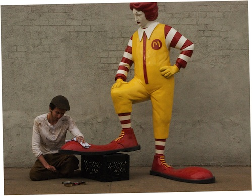 """Banksy: """"Better Out Than In."""""""