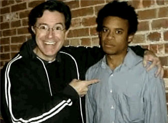 Colbert black friends